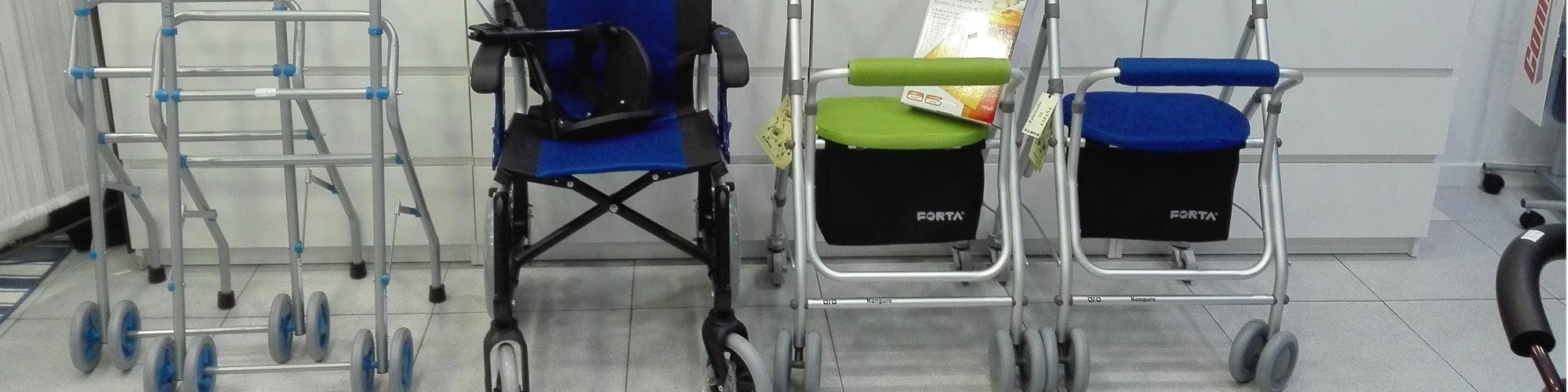 Alquiler de sillas de ruedas, camas y gruas